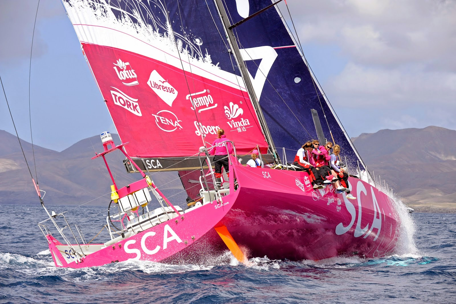 Team SCA, Volvo Ocean Race 2014