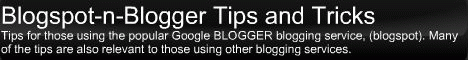 Blogspot-n-Blogger