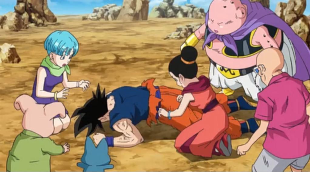 Goku and everyone