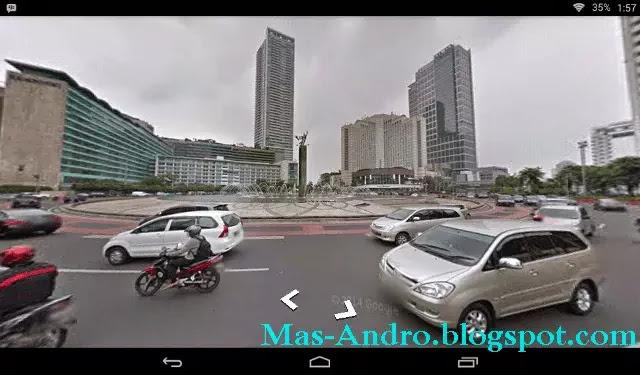 Cara Melihat Google Street View Indonesia via Android