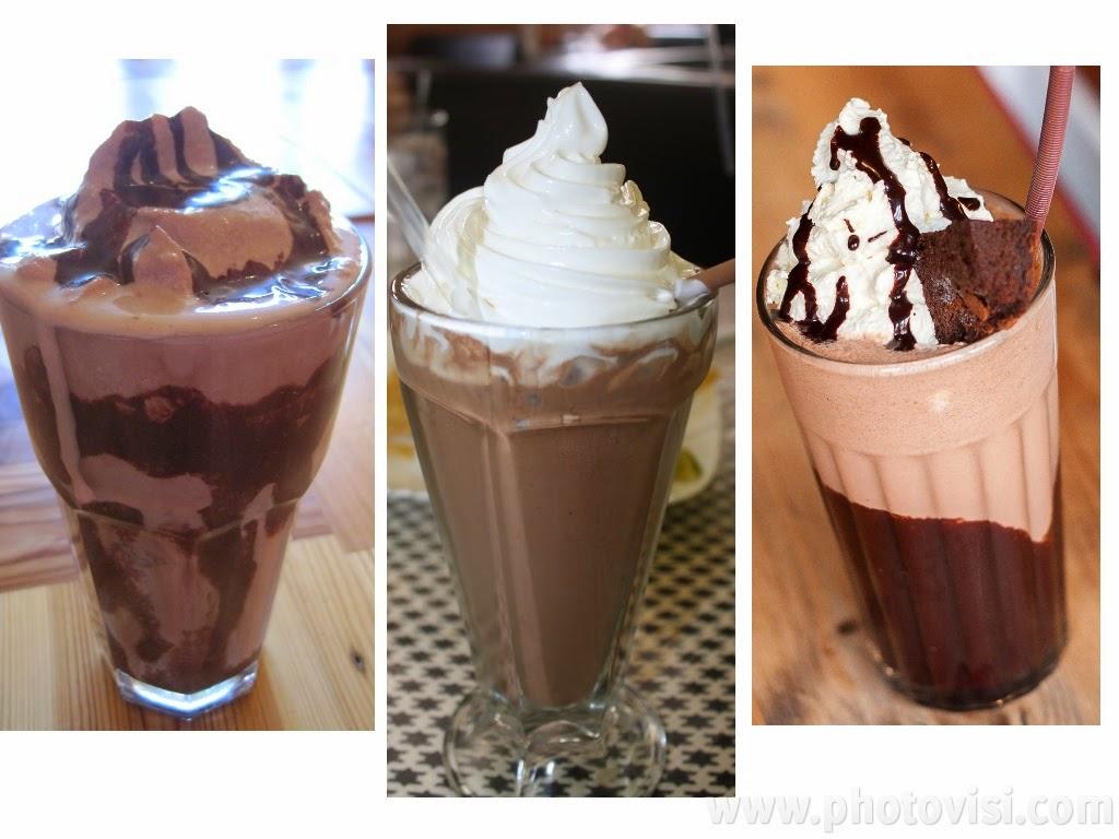 طريقة عمل ميلك شيك الشوكولاتة