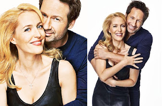 Gillian Anderson David Duchovny Entertainment Weekly XFiles