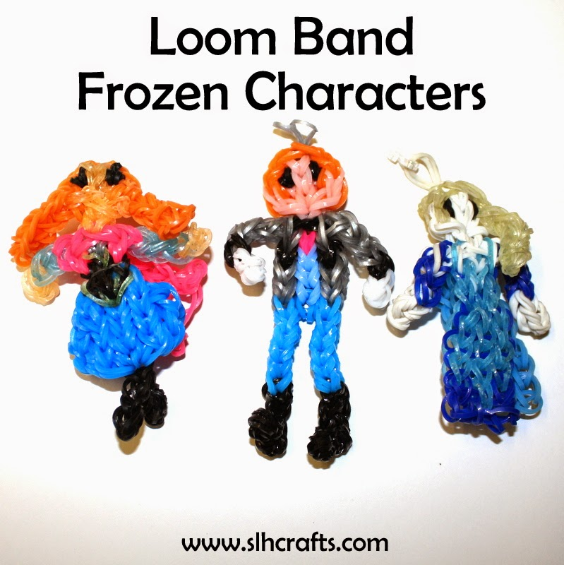 loom band frozen character