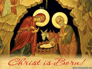 Christ is born.