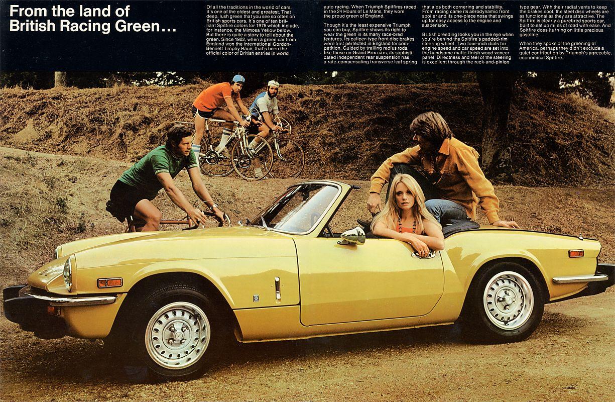 the street peep 1975 triumph spitfire 1500. Black Bedroom Furniture Sets. Home Design Ideas