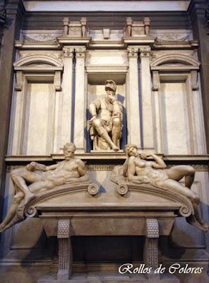 Tumba Medici Miguel Ángel