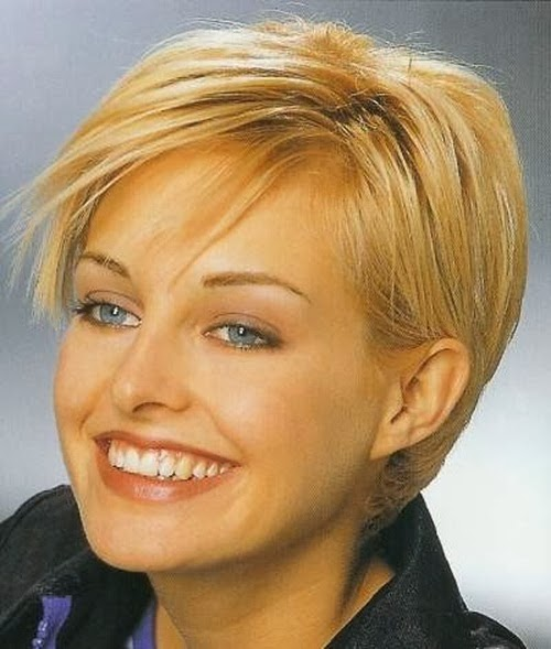 Short hairstyles for fine thin hair 2012