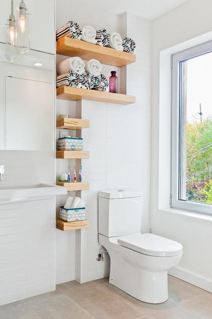 Modern day decor for Bathroom storage ideas b q