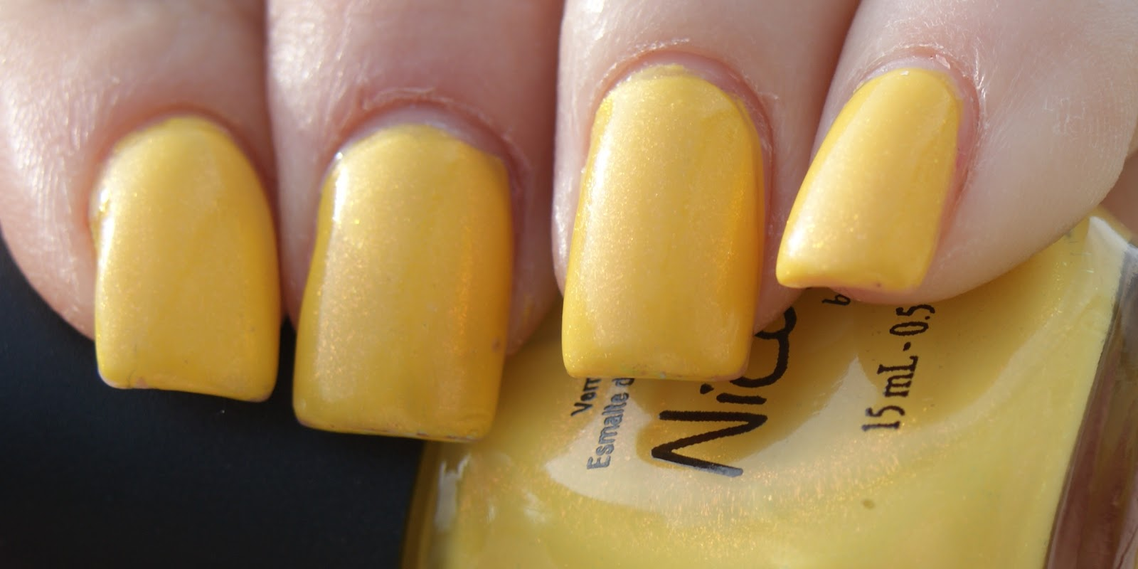 Princess Polish: Swatch and Review: Nicole by OPI Yellow... It\'s Me