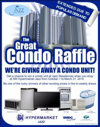 SM Hypermarket Jazz Great Condo Raffle