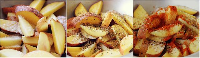 Картофель, запеченный со специями