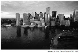 Contoh kota-kota yang berstruktur sektoral