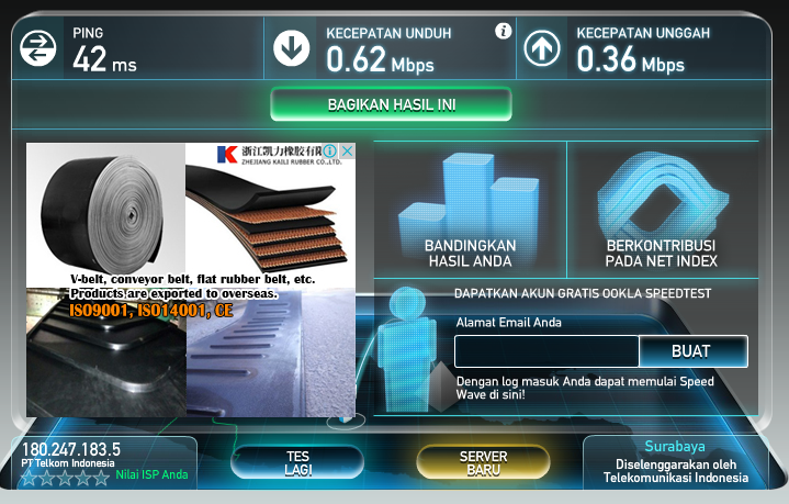 speedtest.net ~ Seberapa Cepat Koneksi Internetmu ? 3