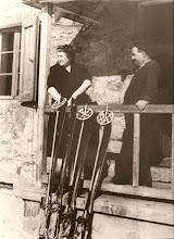 Malvina et Christophe Turc à Chamrousse