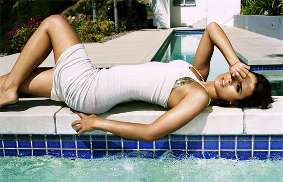 Jordana Brewster Pool Actress And Fun