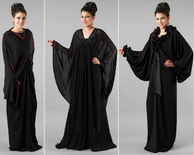 Latest Abaya Designs 2012-2013