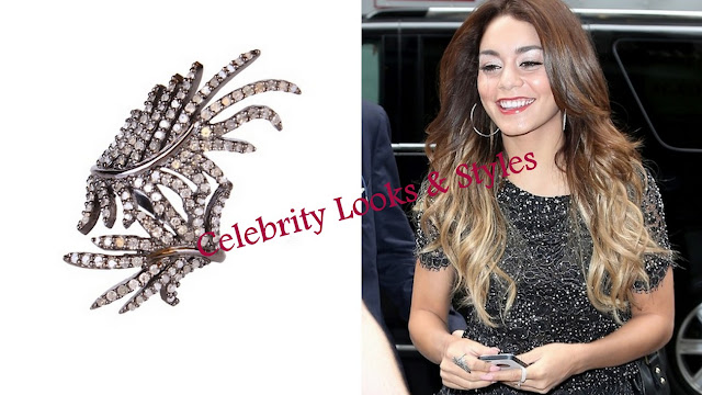 Celebrity looks: Vanessa Hudgens is a beauty in State Room Jewelry while out in New York City