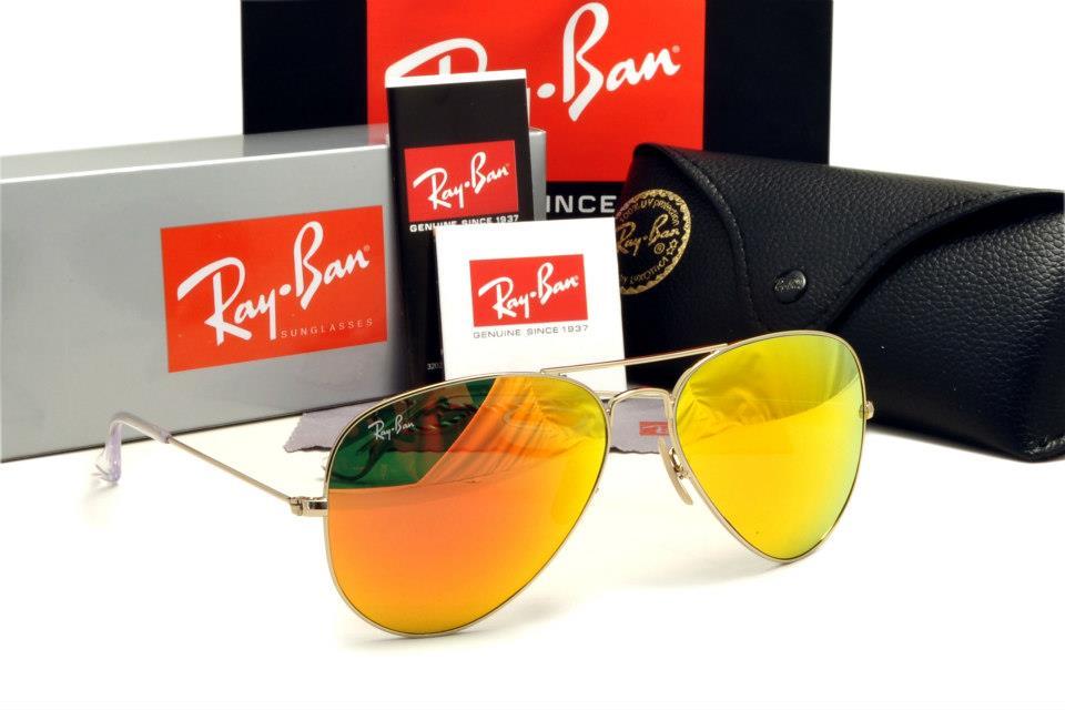 ... gold mirror lenses 58mm d8d8f b541a  inexpensive kedai kacamata anda  rayban 5a aviator rb3025 medium a737f 2632f e86a84bfa2