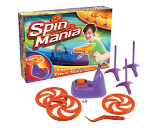 Spin Mania Drumond Park Box Contents