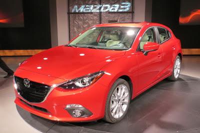 Lansare Mazda3 model 2014