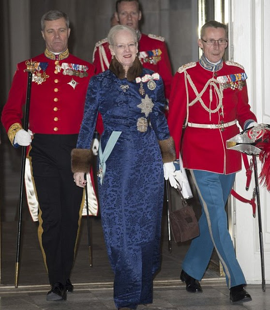 Danish Royal Family At New Year Diplomatic Reception, 2016
