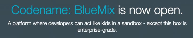 http://www.bluemix.net
