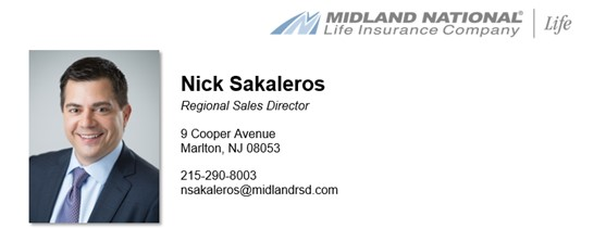 Nick Sakaleros - Regional Sale Director