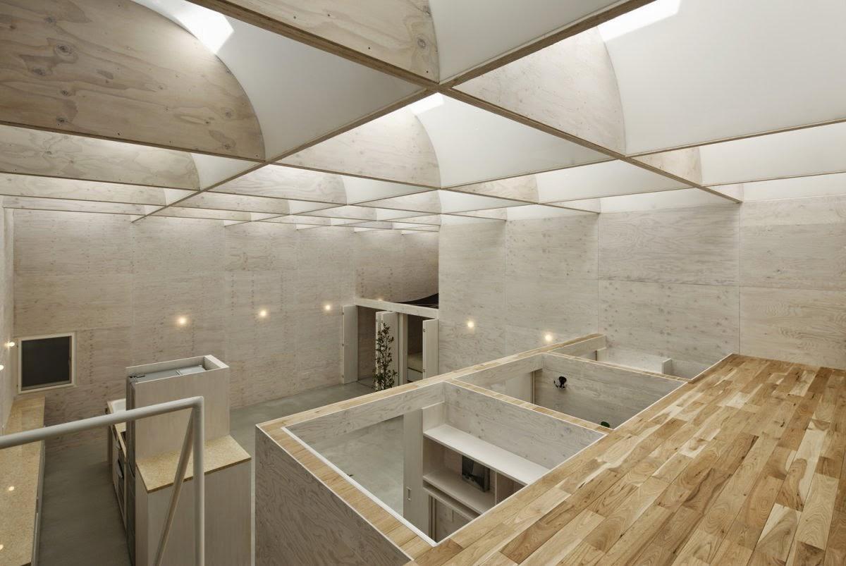 ... Baja Ringan Plafon plafon beton ekspos ekspos rangka atap baja kayu