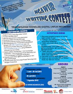 ngawur writing contest