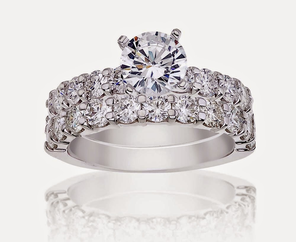 Princess Cut Women s Wedding Ring Sets Diamond Model