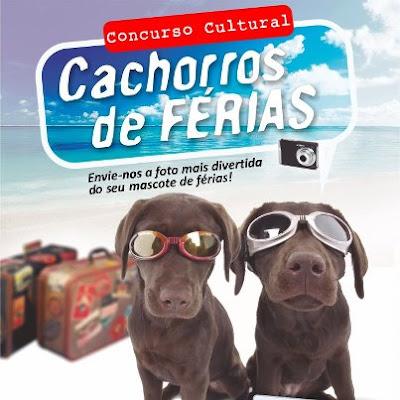 """Concurso Cultural """"Cachorros de Férias"""""""