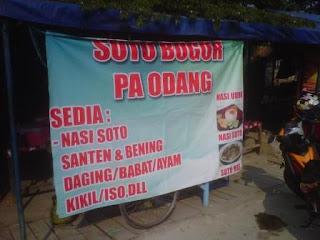 Soto babat Enak Di Bogor