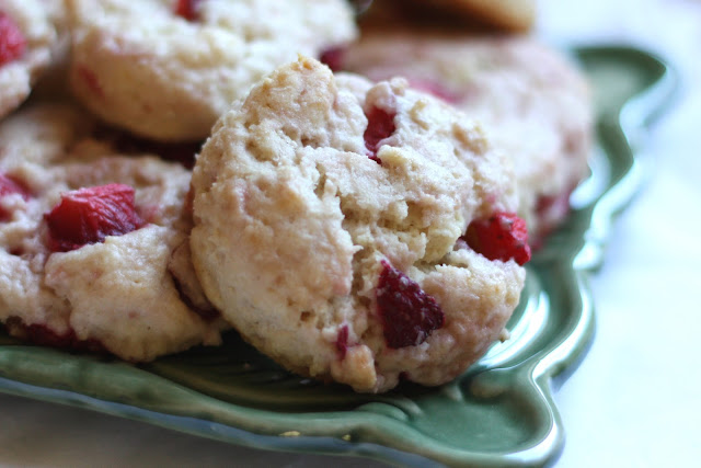 Barefeet In The Kitchen: Strawberries and Cream Biscuits {traditional ...