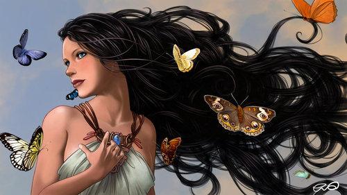 Unidas pelo fenômeno que teve lugar na crisálida, lagarta e borboleta são uma só!