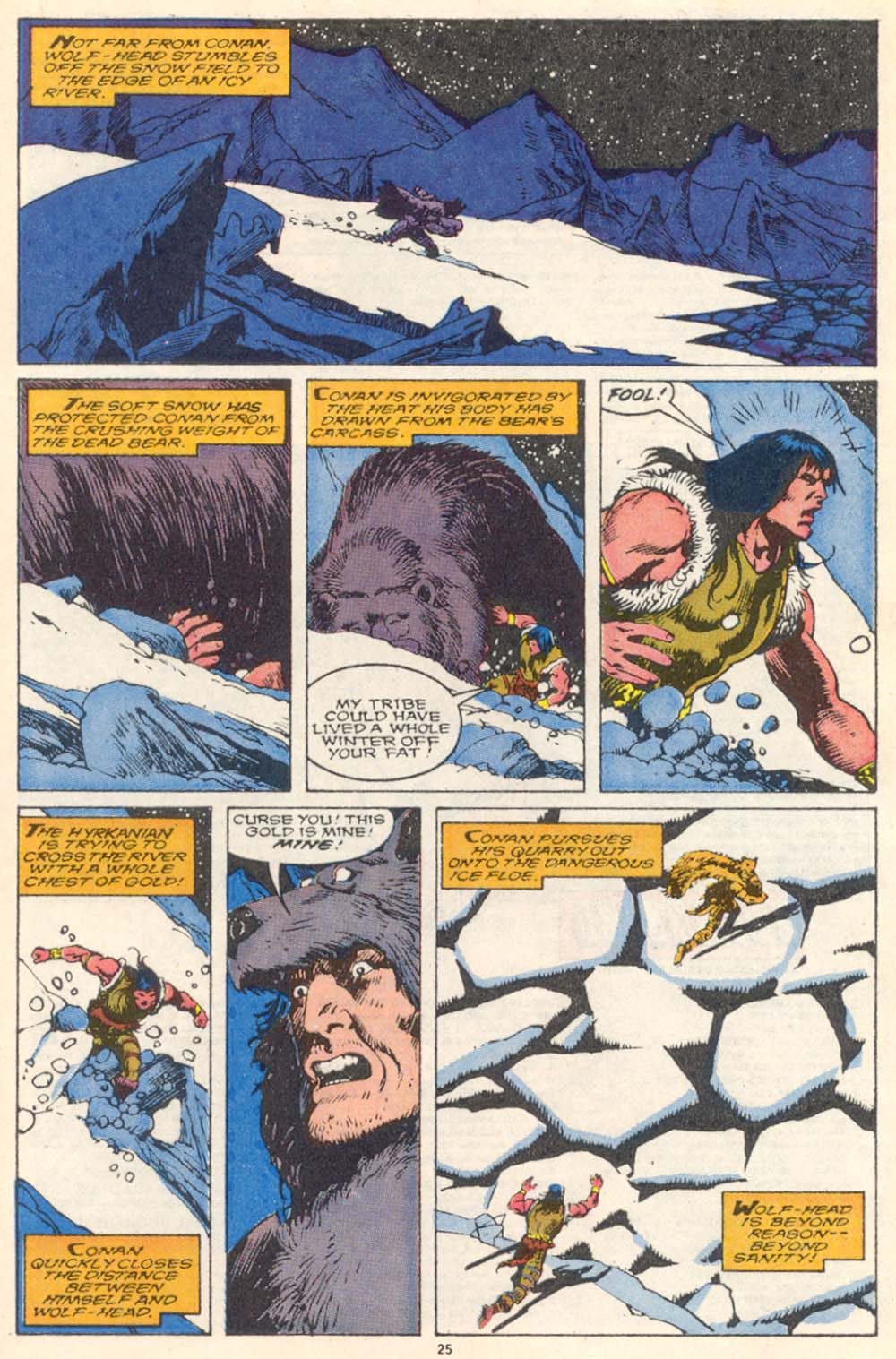Conan the Barbarian (1970) Issue #220 #232 - English 21
