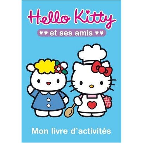 livre d'activités hello kitty