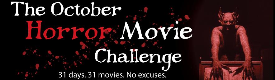 October Horror Movie Challenge 2014