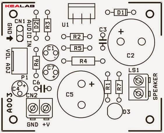 amplificator audio 12w clasa ab cu tda2006