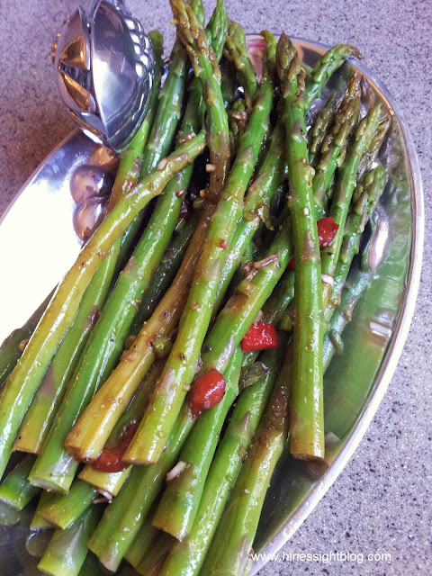 easy, marinated asparagus