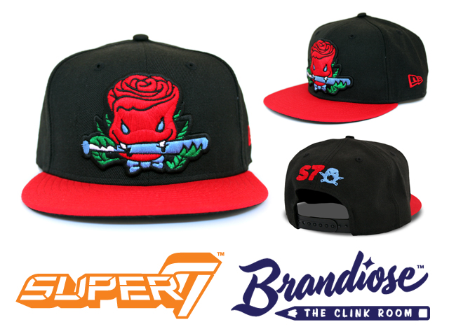 Super7 x Brandiose's The Clink Room Green Hell Rose Vampire Snapback