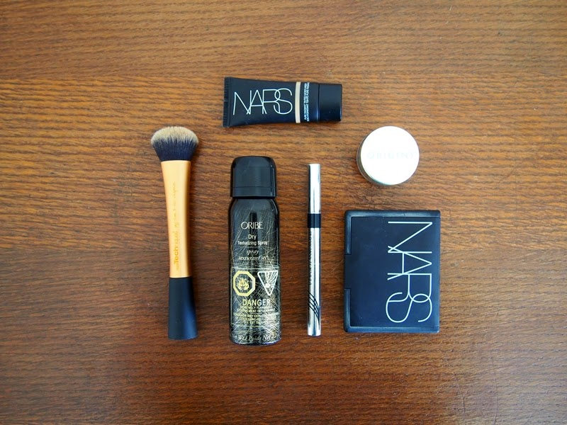 makeup and haircare products