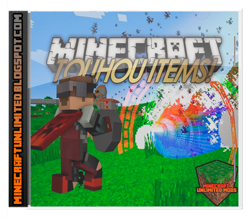 Touhou Items Mod Minecraft