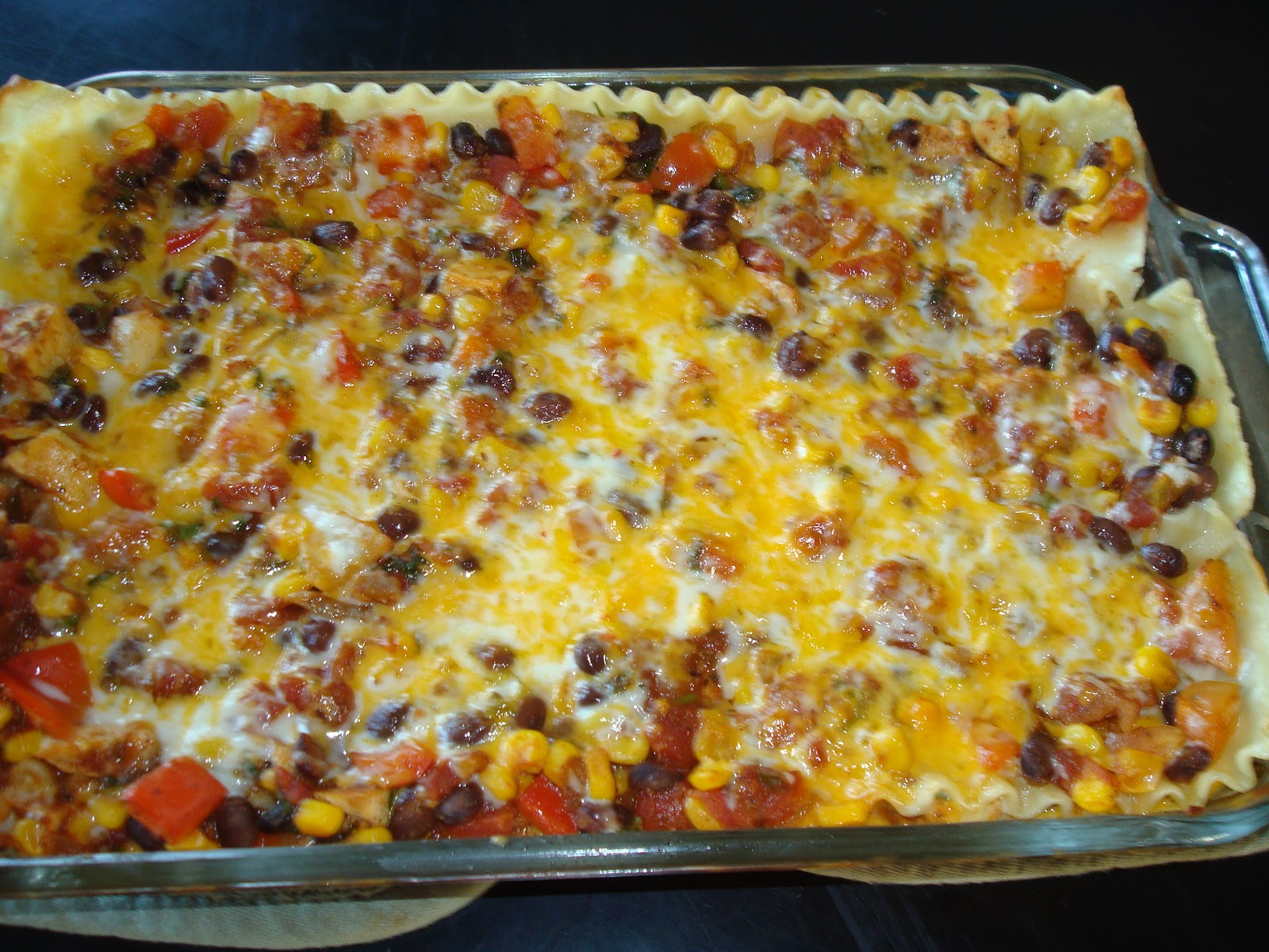 menu managed: Mexican Lasagna