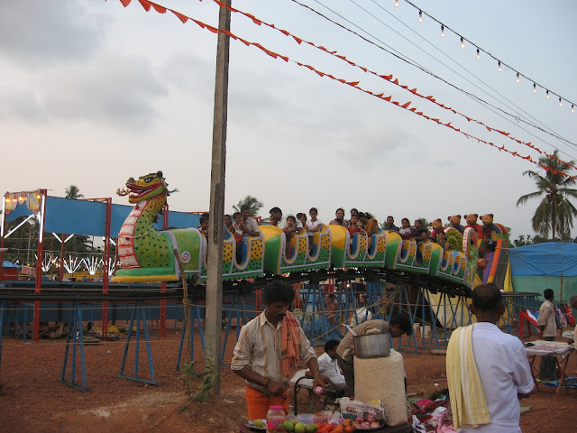 Dragon Train at the festival