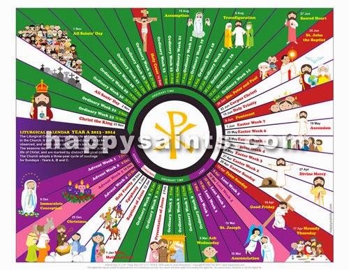 Printable Liturgical Calendar November | Calendar Template 2016