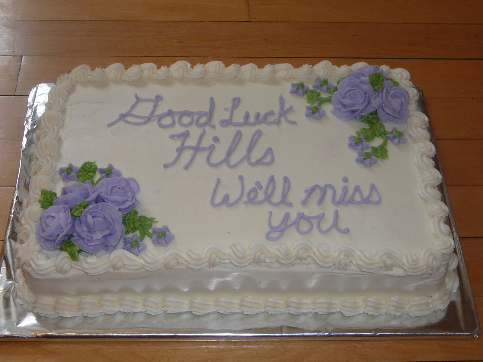 Goodbye Cake Images : Pin Goodbye Cake Cakes Cake on Pinterest