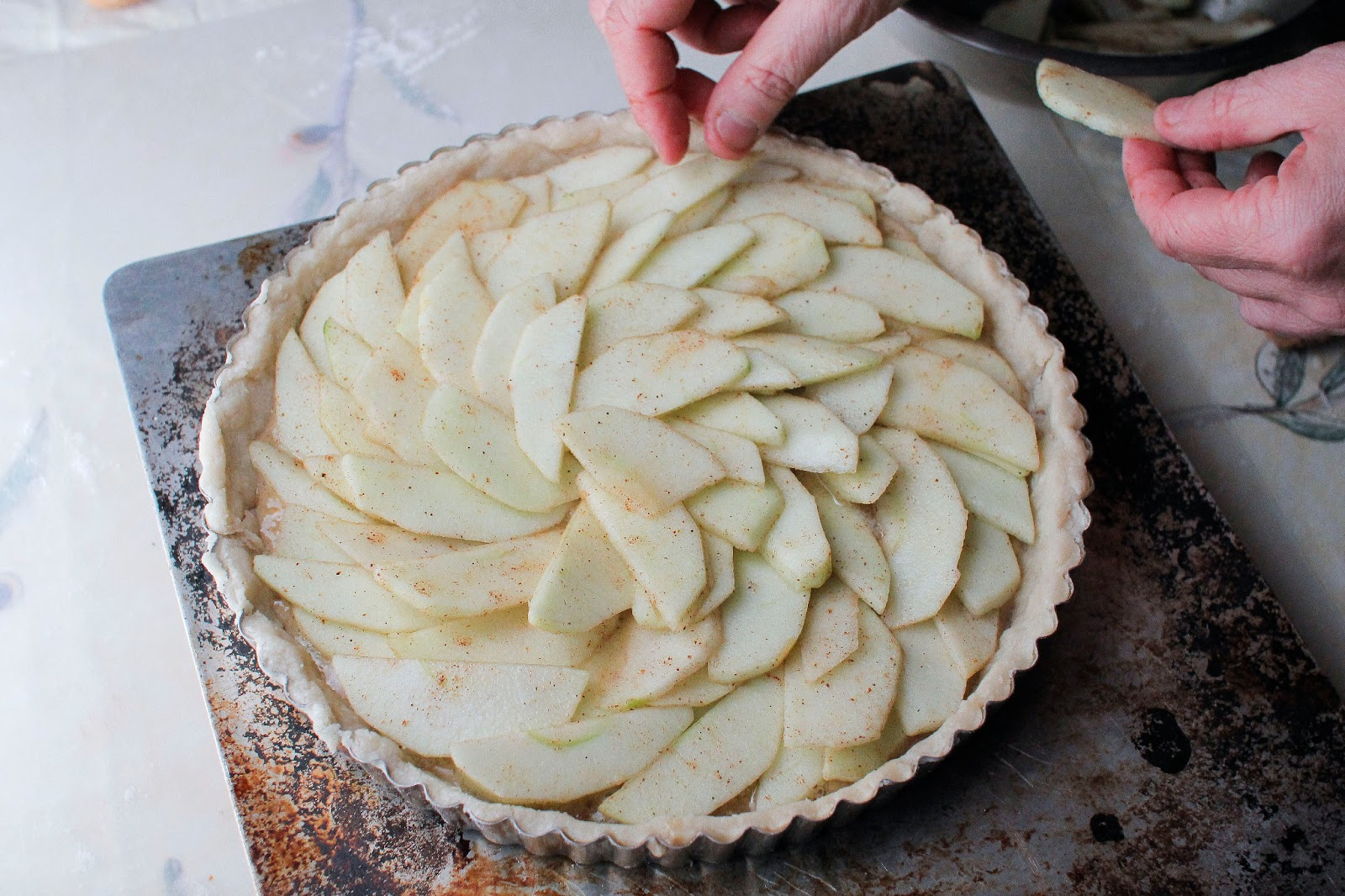 The Colors Of Indian Cooking: Gluten Free Apple Walnut ...