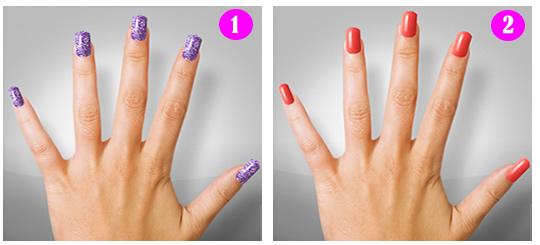 Modelos de pintado de uñas para mujeres