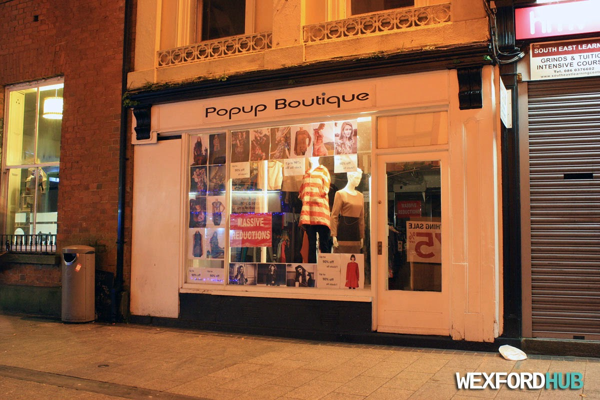 Popup Boutique, Wexford