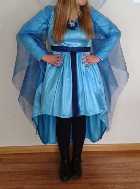 Vestido de hada madrina de pinocho